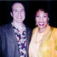 Yolanda King and Darrell Gurney