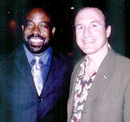 Les Brown and Darrell Gurney